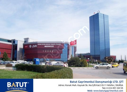 BURSA BUTTİM PLAZA DA SATILIK 250 m² OFİS-BÜRO