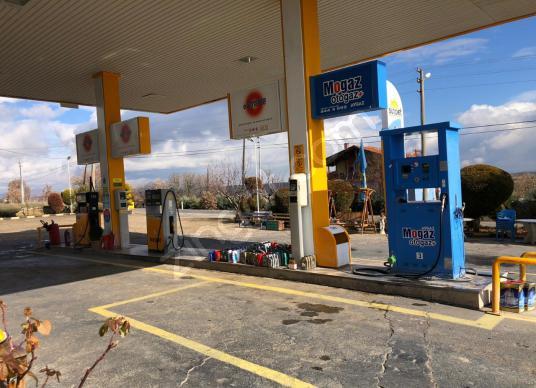 Faal Çalışan Satılık Benzin İstasyonu - Sokak Cadde Görünümü