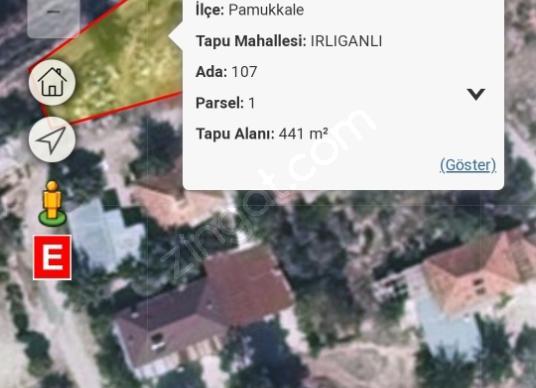 Pamukkale Irlıganlı'da Satılık Konut İmarlı - Kat Planı