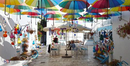 Bodrum merkezde plaja 200m 12 ay çalışan butik otel