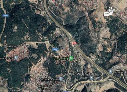 MERSİN TARSUS ÇUKURBAĞ EMİSİLLİ'DE 2.350 M2 İMARLI SATILIK ARSA.
