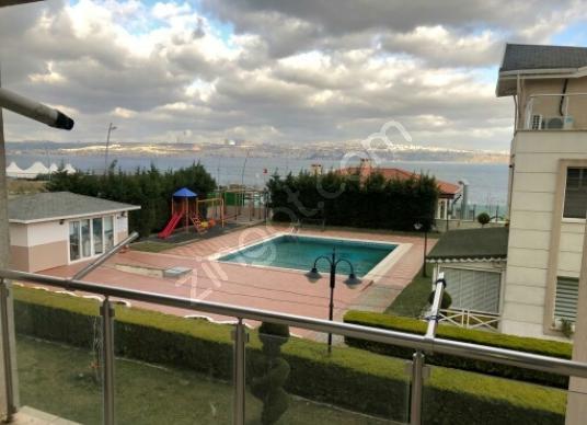 Atak Emlak' tan Pera panorama sitesinde deniz manzaralı daire