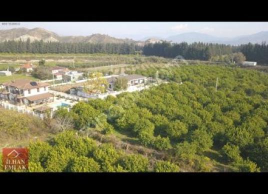 ORTACA'DA SATILIK DOĞA İÇİNDE MÜSTAKİL VİLLA İMARLI ARSA (965m2)
