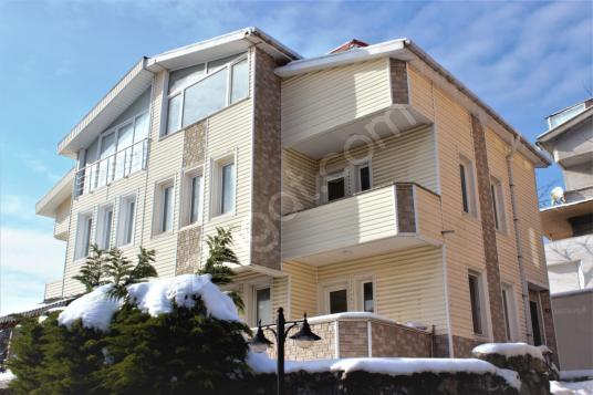 Çavuşbaşı'nda Manzaralı Sıfır Yapılı 5+1 Kiralık Villa