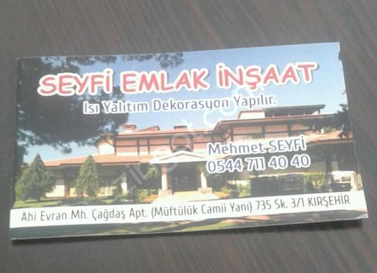 Kırşehir Merkez Aşıkpaşa'da Satılık Konut + Ticaret