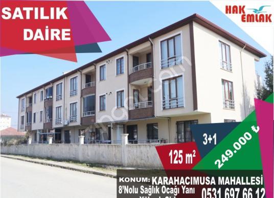 Hak Emlak'tan Karahacımusa Mah.de Satılık 3+1 Fırsat Daire