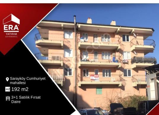 Sarayköy Cumhuriyet Mahallesinde 3+1, 192 m2 Satılık Daire