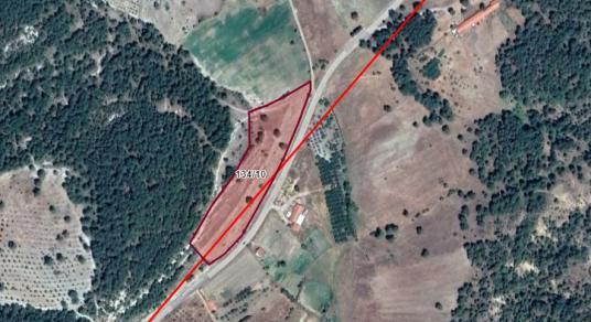 ALTINAYDAN KELES YOLU ÜZERİ ANAYOLA 300 M CEPHELİ ARAZİ - Harita