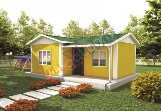 40 m² 1+1 PREFABRİK EV MODELİ (KAMPANYALI FİYATLAR İCİN ARAYIN )
