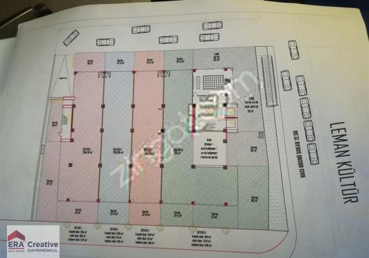 Eskişehir İsmet İnönü'de Kiralık Mağaza (Açıklamaya bknz) - Kat Planı