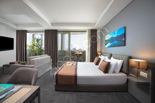 51 square meters 1+0 bedrooms Luxury Homes For Sale in Maltepe, İstanbul - Yatak Odası