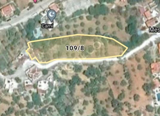 Datça Mesudiye'de Satılık Konut İmarlı 2275 m2 3 adet kargir ev - Harita