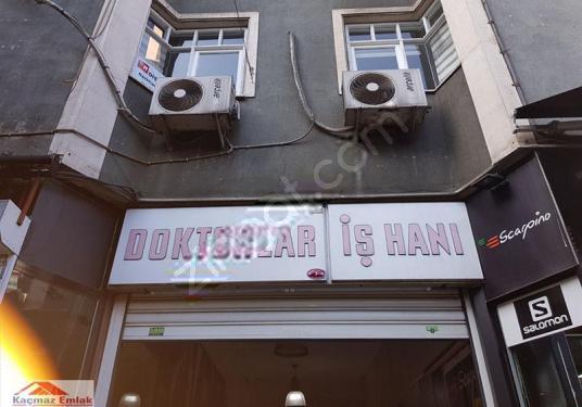 Trabzon Merkezde(Meydan) Doktorlar İş Merkezimde Kiralık Ofis - Dış Cephe