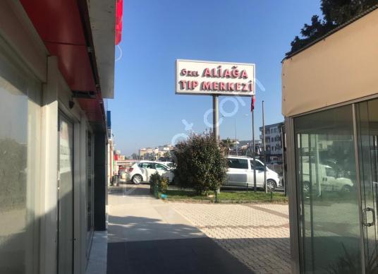 ARGA'DAN ALİAĞA'DA ANACADDE ÜZERİNDE SATILIK 450 M2 DÜKKAN - Sokak Cadde Görünümü