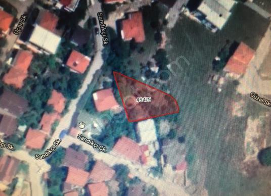 Yalova merkez Bağlarbaşı 552m2 nin  82m2 hissesi satılık Arsa - Harita