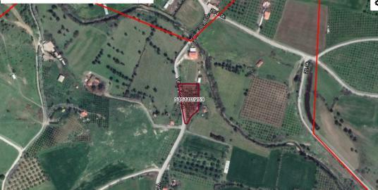 YENİ BAĞ ARASINDA SATILIK 3585 M2 TARLA - Harita