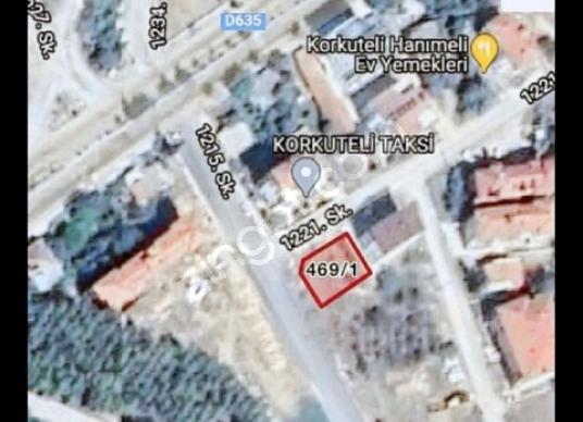 Korkuteli Karşıyaka'da Satılık Çok Amaçlı arsa