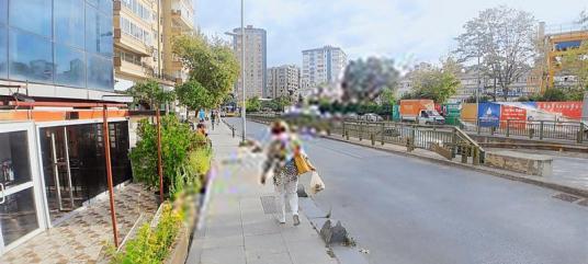 KADIKÖY - ERENKÖY - CADDEÜSTÜ 200M2 DÜKKAN - Sokak Cadde Görünümü