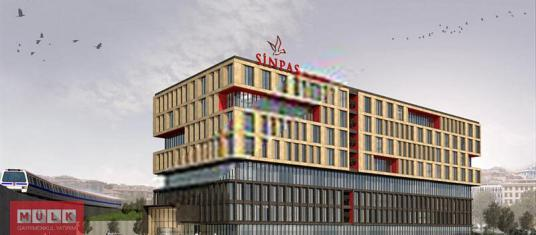Kağıthane Flatofis'de 1.914 m² Kiralık Ofis (Mülk Sahibiyiz) - Dış Cephe