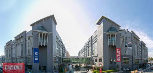 İkitelli OSB Deposite'de 220 M² Dekorlu Kiralık Ofis - Sokak Cadde Görünümü