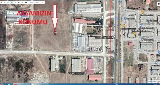 BOLVADİN SANAYİ ALANINDA SANAYİ İMARLI SATILIK 75 M2.ARSA - Harita
