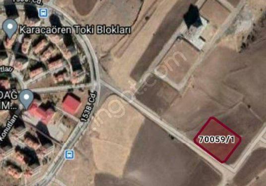 KARACAÖREN VİLLA İMARLI BÖLGEDE 503 M2 TİCARİ İMARLI ARSA - Harita