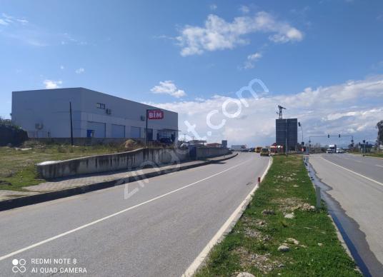MANAVGAT KIZILAĞAÇ'TA D400'E SIFIR 484 M2 SATILIK TİCARİ ARSA - Sokak Cadde Görünümü