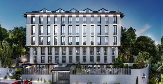 Emirgan Apartments By Seba'da Kiralık Balkonlu Sıfır Loft Daire - Dış Cephe