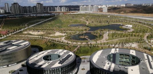 MARLA'dan Park Mavera1 Botanik Manzara 4+1 Satılık Daire 208m2 - Site İçi Görünüm