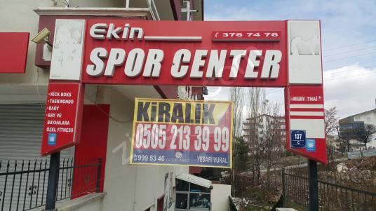 Altındağ Çamlık'ta Kiralık Spor Tesisi - Dış Cephe