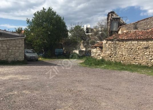 Alaçatı Hacımemiş'de Satılık 277m² Eski Tip Yağhane & 635m2 Arsa