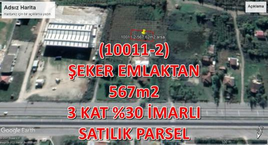 10011-2-AKOVA MAH. 567m2 SATILIK İMARLI PARSEL - undefined