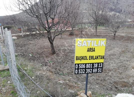 BAŞKOL EMLAK'TAN HELVACI'DA SATILIK 796m2 İMARLI ARSA - Bahçe