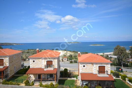 Foça Gültekin Konaklarında Deniz Manzaralı Satılık 5+2 Villa - Dış Cephe