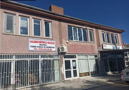 lalahan iş merkezi toplam 3 adet dükkan 2 katlı yan yana