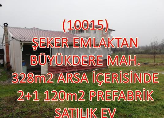 10015-328m2 ARSA İÇİNDE 120m2 TAPU ALINMIŞ SATILIK PREFABRİK EV - Logo