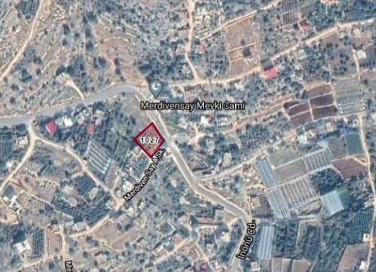 Silifke Susanoğlu' nda Satılık Cazip Konumda Bahçe - Harita