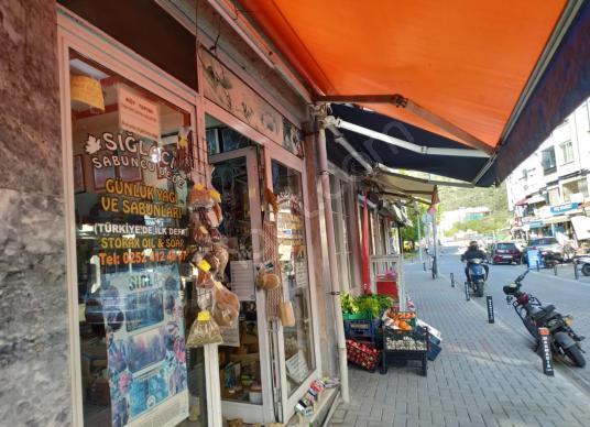 Marmaris Marina ve Merkeze Çok Yakın Satılık Asma Katlı İş yeri - Sokak Cadde Görünümü