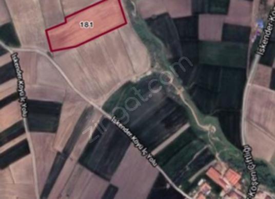 Edirne Merkez İskender Köyü'de 16100 m2 satılık tarla - Harita