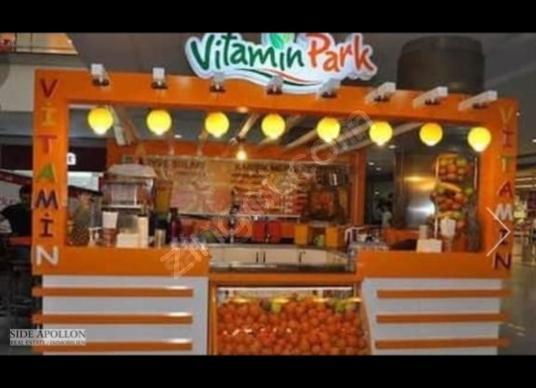 Side'de Kiralık Büfe Vitamin bar-Nargile-Popcorn - undefined