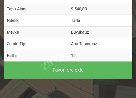 Ferizli Kemalpaşa'da Satılık Çok Amaçlı - Kat Planı