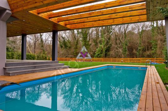 Sarıyer Demirciköy de Müstakil Orman Manzaralı Havuzlu UltraLux - Yüzme Havuzu