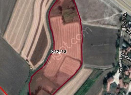 çelik yapı emlak tan satılık bağ bahçe yeri - Harita
