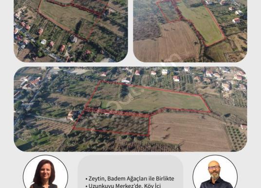 URLA Uzunkuyu Köy içinde Satılık Villa İmarlı Mükemmel Arazi - Harita