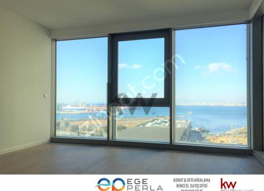 Ege Perla Satış Ofisi'nden SATILIK 1+1 Deniz Manzaralı RESIDENCE - Salon