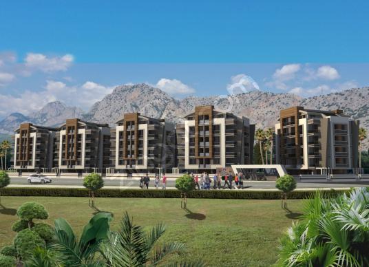 Hurma'da Yeni Rezidansta Son 1+1 Fırsatı Acil!! - Site İçi Görünüm