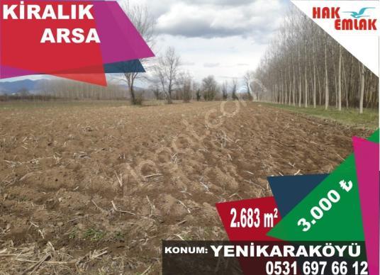 Hak Emlak'tan Yenikaraköy'de Kiralık 2.683 m2 Arsa  ve Ahır - Arsa