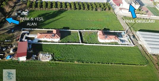 ORTACA'DA SATILIK 3+1 HAVUZLU VİLLA 1100m2 ARAZİSİ - Site İçi Görünüm