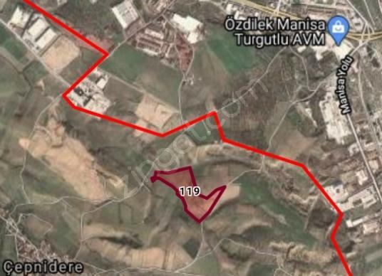 Turgutlu Çepnidere'de Satılık Sanayi İmarlı araziler