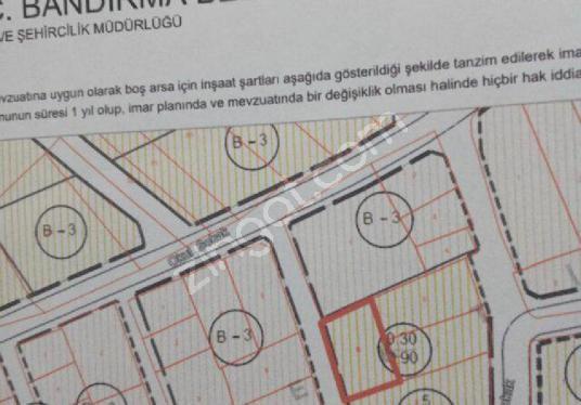 EDİNCİK MAH 3 KATKONUT İMARLI 270 M2 SATILIK ARSA - Kat Planı